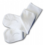 Absolutely Seamless Socks - SmartKnitKIDS ultimate comfort sock - White - Value 3 Pack